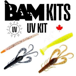 UV Ultra Violet Fishing Lure Kit